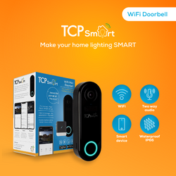 TCP WiFi Video Doorbell I www.smarterhomestore.com