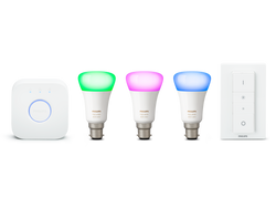 Hue White & Colour Ambiance Starter Kit (B22)