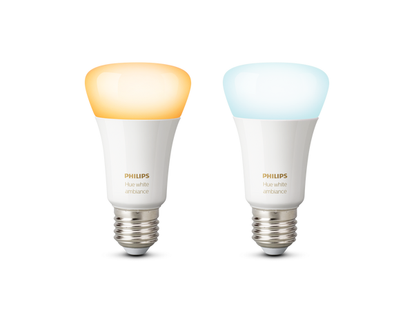 Philips Hue White Ambiance E27 Twin Pack