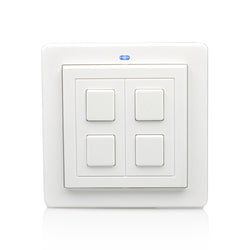 LightwaveRF 2 Gang Wireless On/Off Dimmer Switch I Smarterhomestore.com