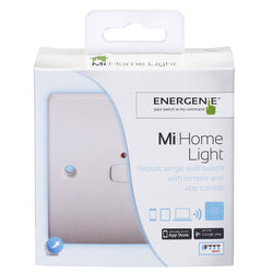 Energenie MiHome Smart Single Light Switch White I smarterhomestore.com