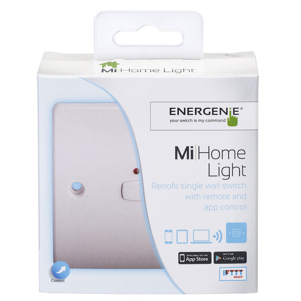 Energenie MiHome Smart Single Light Switch White