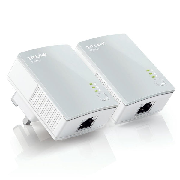 TP Link 600Mbs NANO Powerline Adapter Twin Pack Starter Kit I smarterhomestore.com