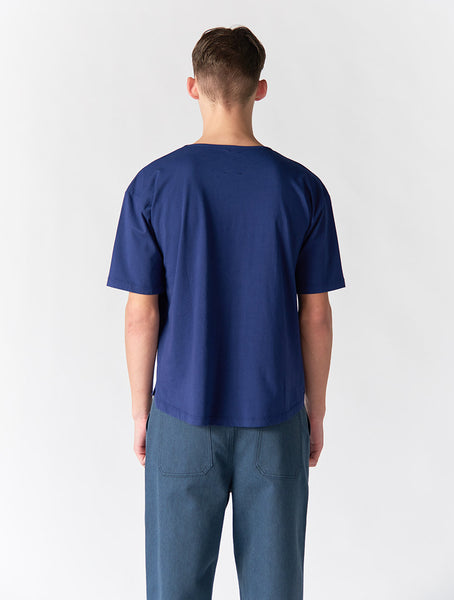Aron Boxy Loose Men - Blue