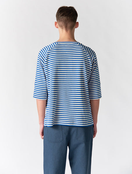 Avery Striped Raglan 3/4 Sleeve Men - Stripe