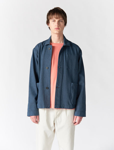 Garret Work Jacket Men - Blue