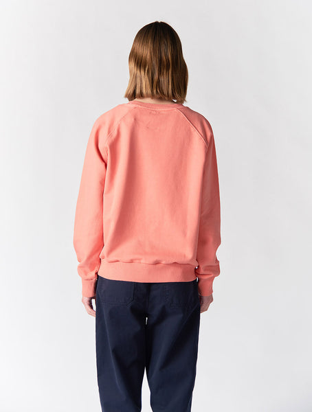 Kent Raglan Sweatshirt Women - Red