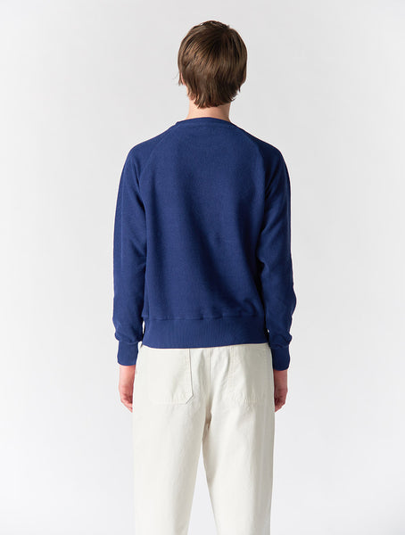 Koby Reverse Sweatshirt Men - Blue