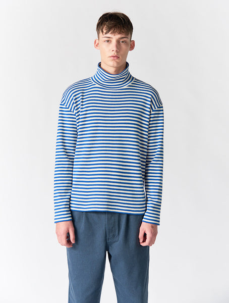 Korey Striped Turtle Neck Long Sleeve Men - Stripe