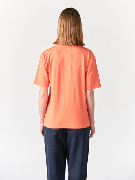 Abel Mock Neck Crew Women - Red