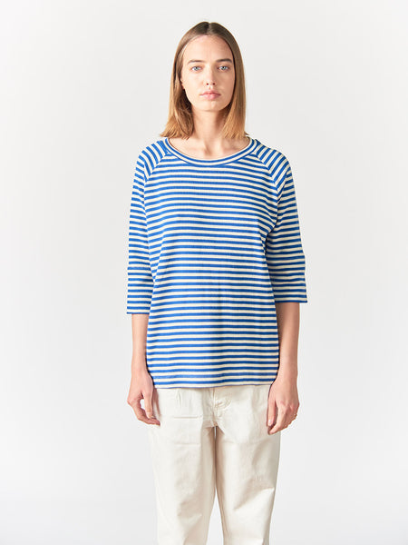 Avery Striped 3/4 Raglan Women - Stripe