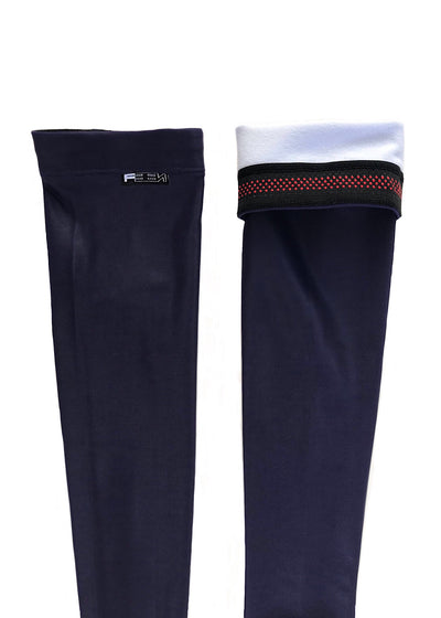 Navy Arm Warmers