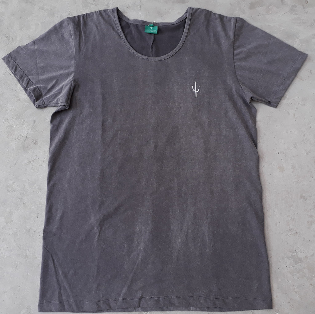 XAVIER TEE - ACID GREY