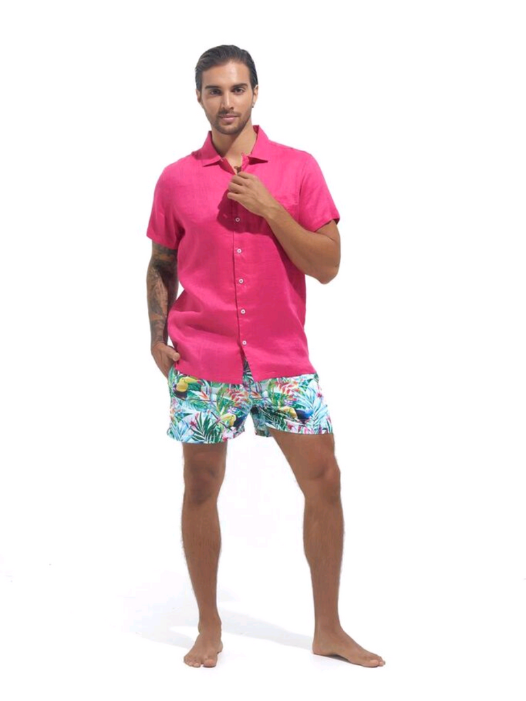 RESORT SHIRT - PENIDA PINK