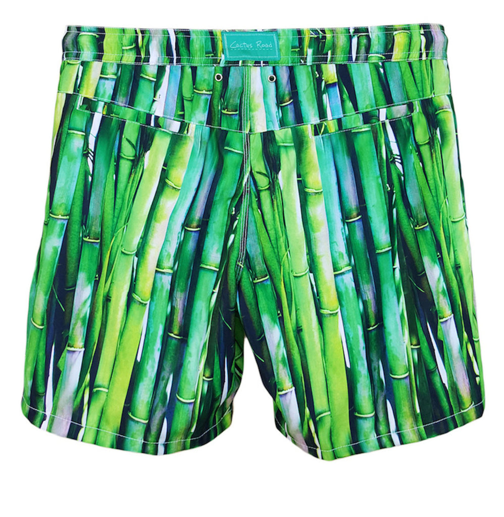 NUSA BOARDSHORTS in Bamboo (knee length)