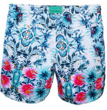 NUSA BOARDSHORTS in Tropical Parrot (knee length)