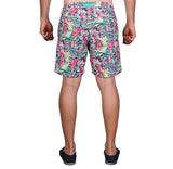 NUSA BOARDSHORTS in Tropicana (knee length)