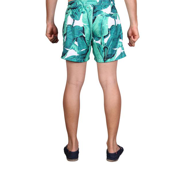 LAGUNA BOARDSHORTS in Banana Leaf (Mid length)