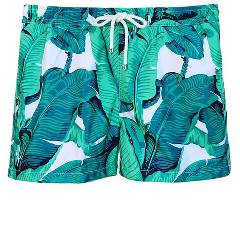 NUSA BOARDSHORTS in Bananas (knee length)