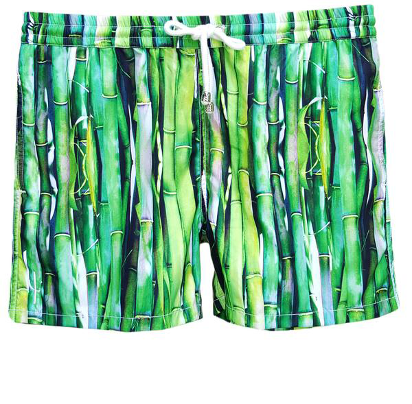 LAGUNA BOARDSHORTS in Bamboo (Mid length)
