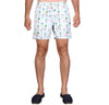 LAGUNA BOARDSHORTS in Flamingo Holiday (Mid length)