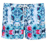 LAGUNA BOARDSHORTS in Tropical Parrot (Mid length)