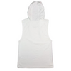 ACROPORA HOODED TANK - WHITE TOWELLING