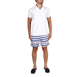 SEAMIST POLO - WHITE TOWELLING