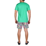 BEACHCLUB TEE - JUNGLE GREEN