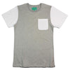 POCKET TEE - GREY MARLE