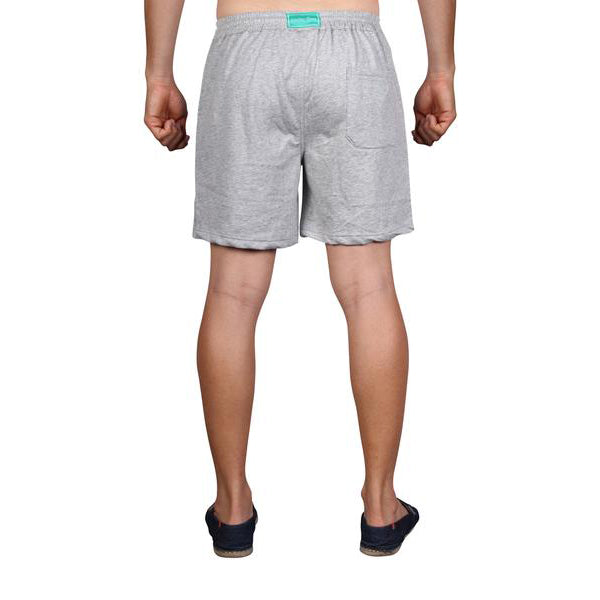 LOUNGE SHORTS - GREY TOWELLING