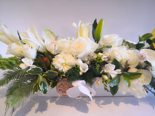 Christmas Boxed Arrangements and Table Centrepieces