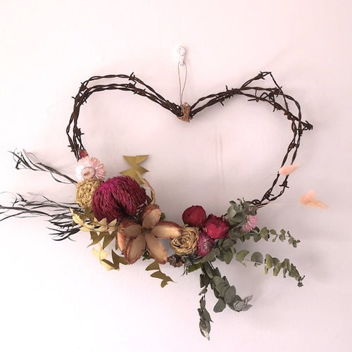Valentine's Barbed Wire Heart