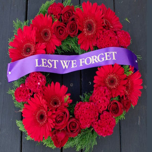 mudgee florist mudgee monkey Anzac day wreath
