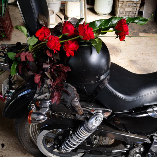 valentines day red roses muddle florist mudgee monkey