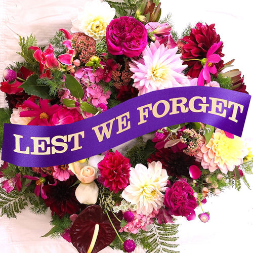 Mudgee florist anzac day wreath. Mudgee monkey. wildflower mudgee
