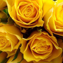 Load image into Gallery viewer, Mudgee florist Mudgee Monkey is a local based florist in the Mudgee Area. Pictured is a generous of yellow bouquet roses. Free delivery and mothers day