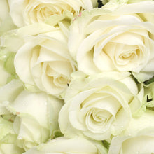 Load image into Gallery viewer,  Mudgee florist Mudgee Monkey is a local based florist in the Mudgee Area. Pictured is a generous bouquet of white roses. Valentines day Free delivery and mothers day