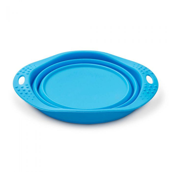 BECO PETS | Travel Bowl - Blauw