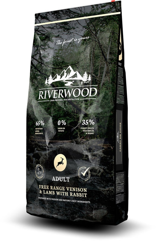 RIVERWOOD | Adult - Free Range Hert & Lam met Konijn