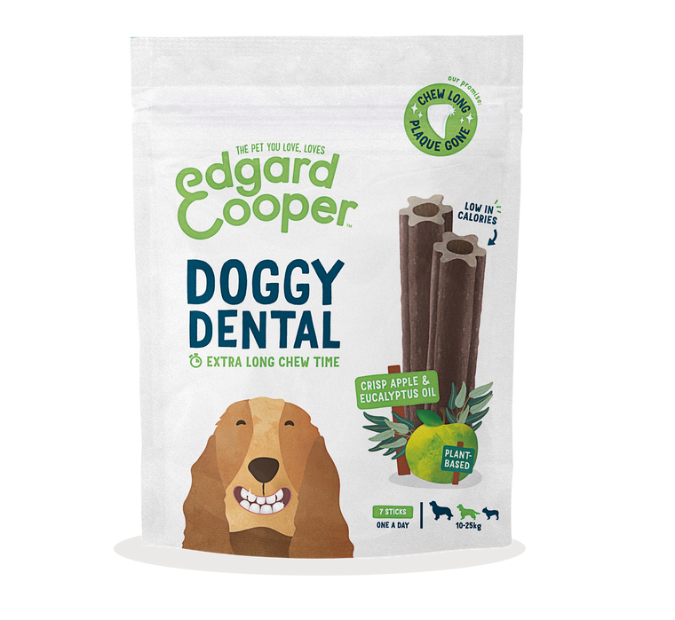 EDGARD & COOPER | Dental Doggy - Crisp Apple & Eucalyptus Oil