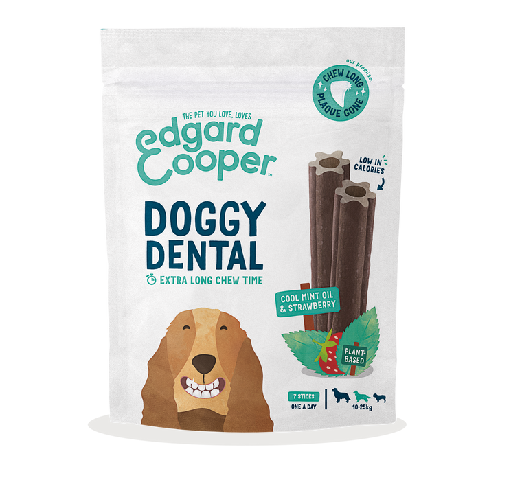 EDGARD & COOPER | Dental Doggy - Cool Mint Oil & Strawberry
