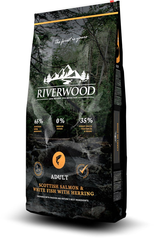 RIVERWOOD | Adult - Schotse Zalm & Witvis met Haring