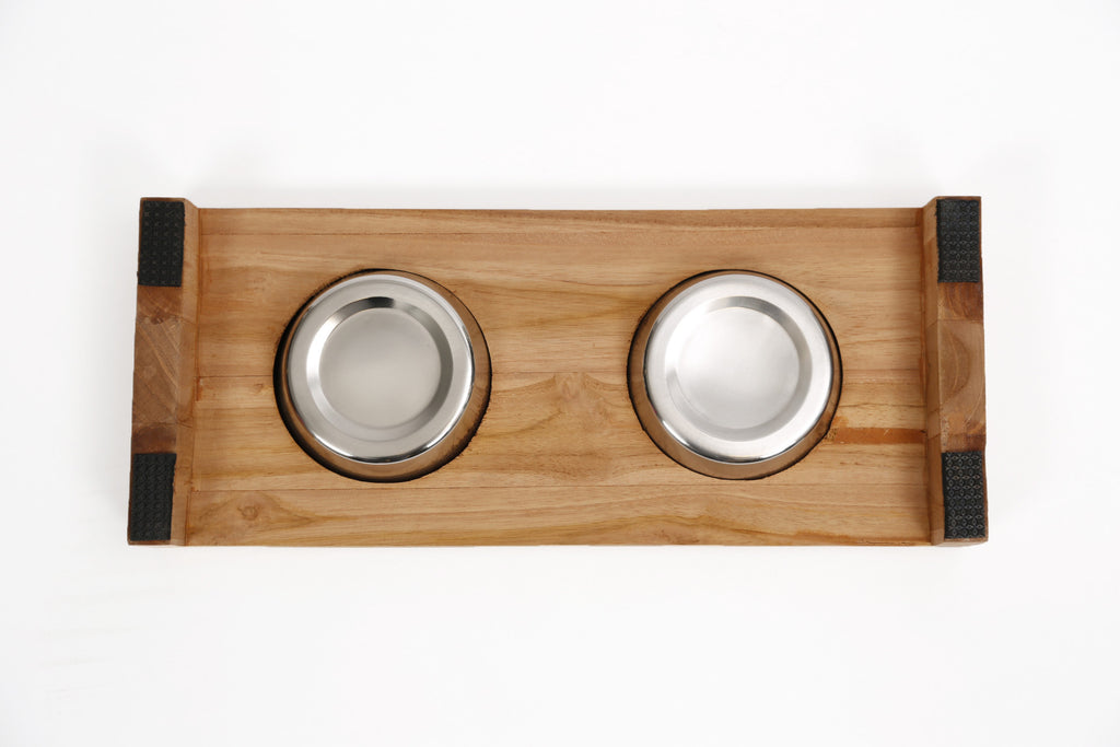 SURPLUS | Teak Dinner Bowl - Double