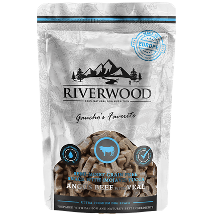 RIVERWOOD | Semi-Moist Snack - Angus Beef & Veal