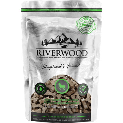 RIVERWOOD | Semi-Moist Snack - Lamb & Rabbit