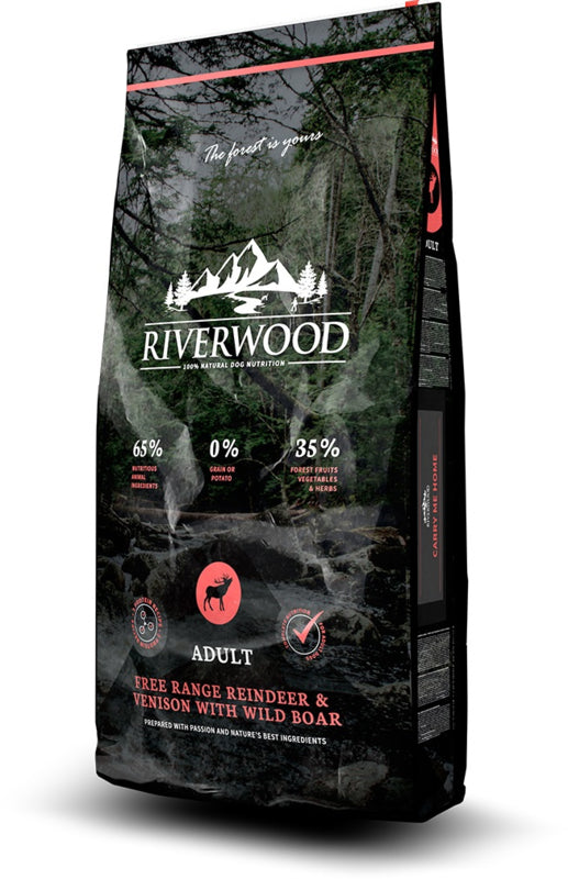 RIVERWOOD | Adult - Free Range Rendier & Hert met Everzwijn