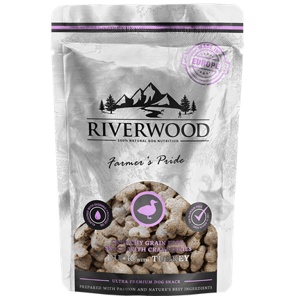 RIVERWOOD | Crunchy Snack - Eend & Kalkoen