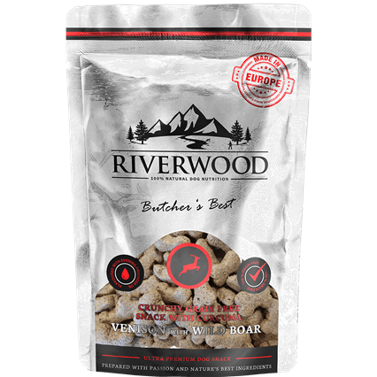 RIVERWOOD | Crunchy Snack - Hert & Everzwijn