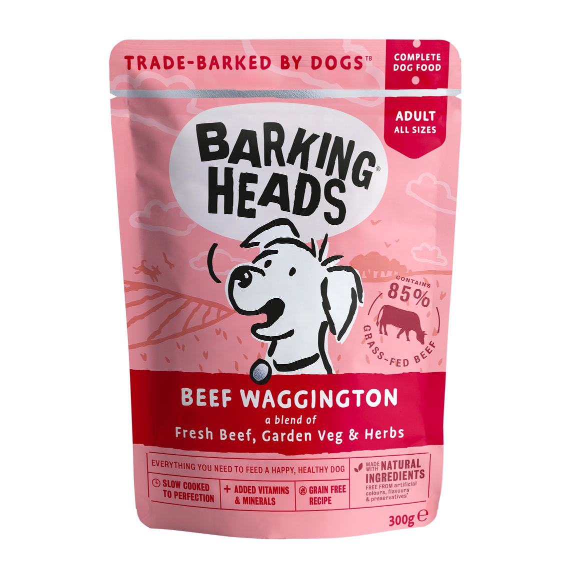 BARKING HEADS | Meatloaf - Beef Waggington